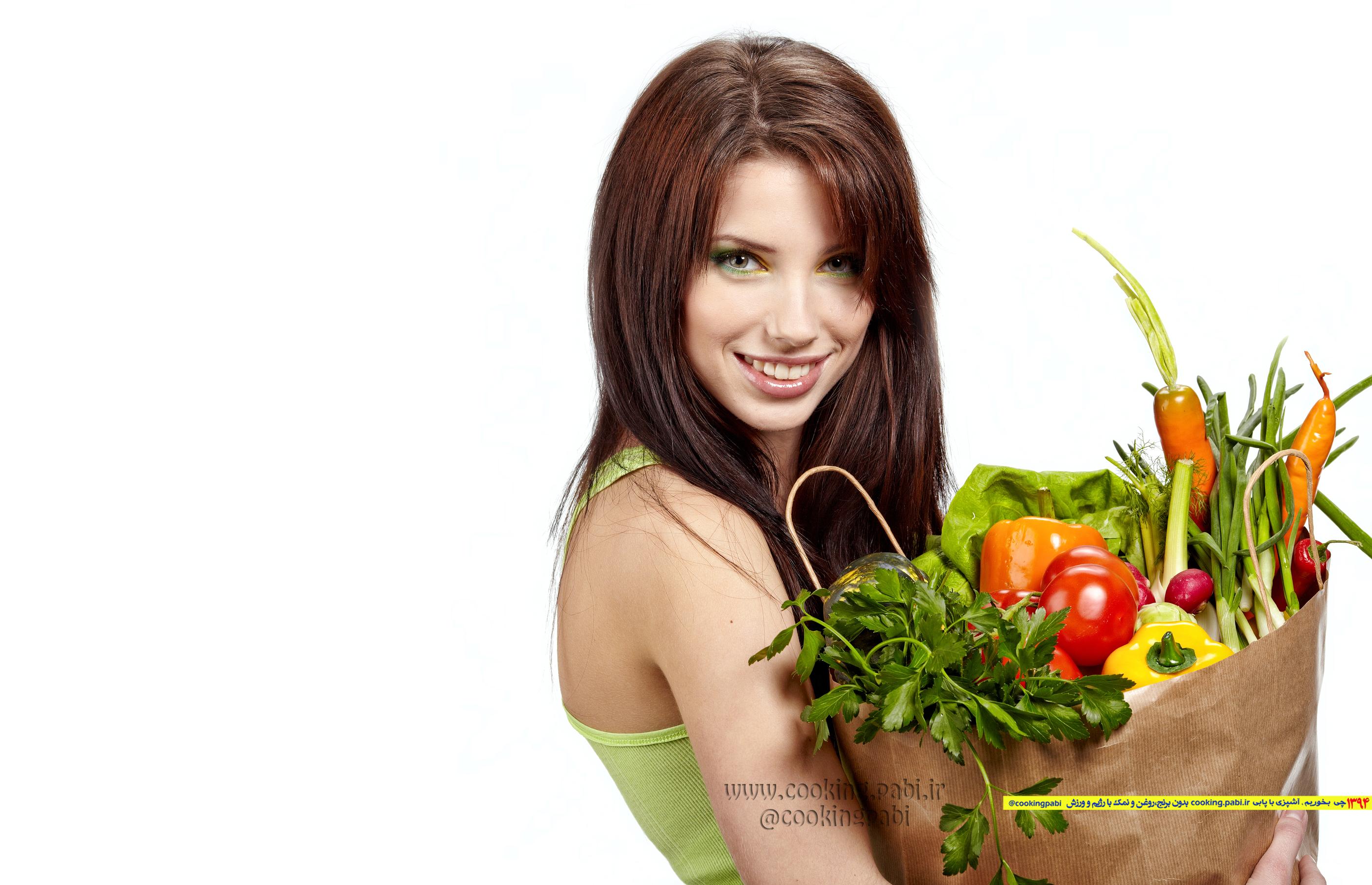 رژیم غذایی برای کاهش چربی پهلو ها و ران ها