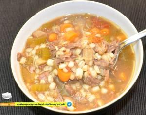 25--cookingpabi--آشپزی-با-پابی--Barley-soup-with-beef---سوپ-جوباگوشت-گاو