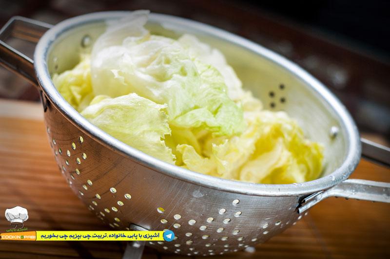 46--cookingpabi--آشپزی-با-پابی---Wash-lettuce-2--شستشوی-کاهو
