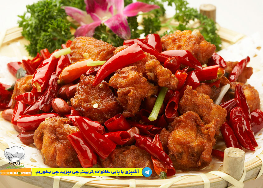 50--cookingpabi--آشپزی-با-پابی---Spicy-Fried-Chicken-1--مرغ-سوخاری-اسپایسی