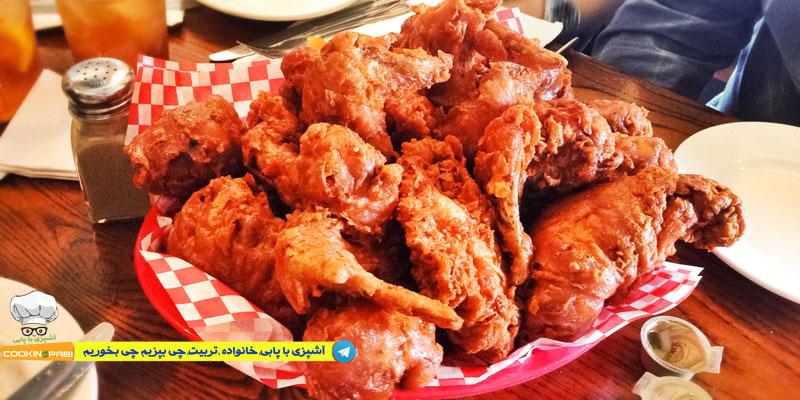 50--cookingpabi--آشپزی-با-پابی---Spicy-Fried-Chicken-4--مرغ-سوخاری-اسپایسی