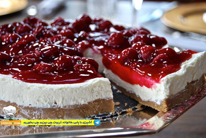 53--cookingpabi--آشپزی-با-پابی---Cheesecake-Custard-1---کیک-پنیرمربایی