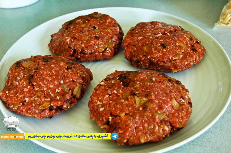 60--cookingpabi--آشپزی-با-پابی--Hamburger-meat-1-همبرگرگوشت