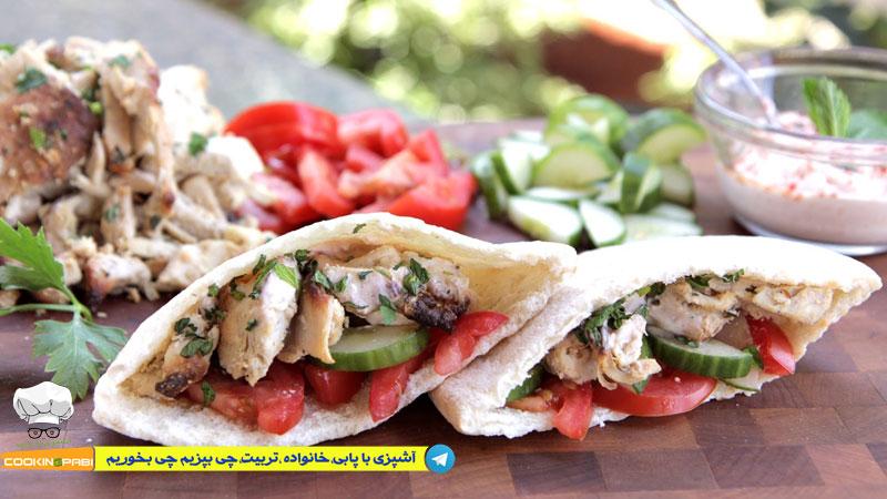 66--cookingpabi--آشپزی-با-پابی---Shawarma-Home-کباب-ترکی-خانگی