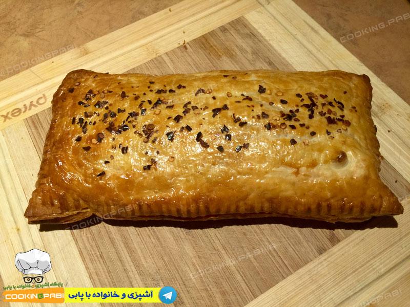 126-cookingpabi-آشپزی-و-خانواده-پابی--Meat-strudel-2-اشترودل-گوشت-