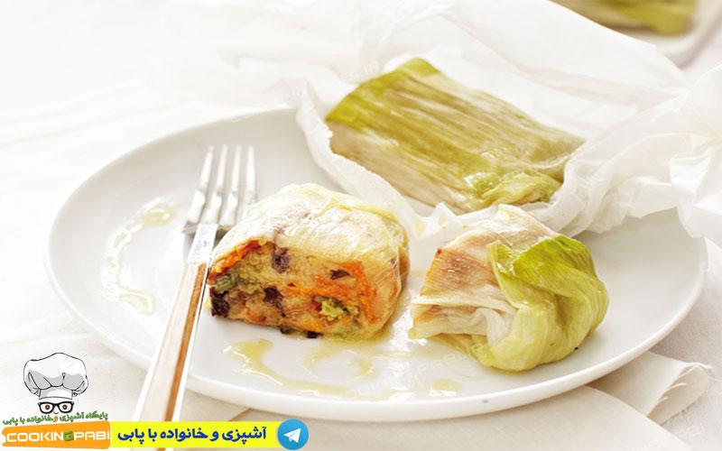 137---cookingpabi-آشپزی-و-خانواده-پابی-رول سبزیجات-