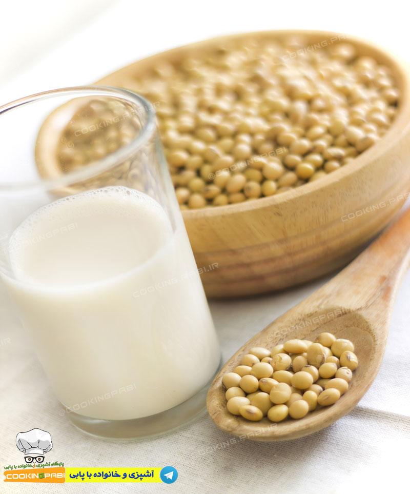 140-cookingpabi-آشپزی-و-خانواده-با-پابی-Soy-milk-2-شیر-سویا